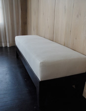 Simple Series Rectangular Ottoman