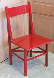 Lacquered Dining Chair