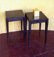 Polished Couchon Side Table